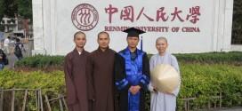Lễ tốt nghiệp Thạc sĩ , quý thầy, quý sư cô tại Bắc Kinh, Trung Quốc