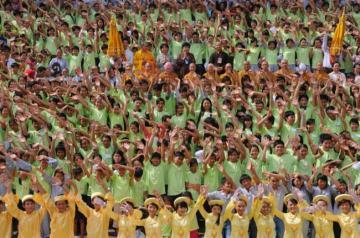 TP.HCM: Khai mạc Hội trại Tuổi trẻ và Cuộc sống lần IV
