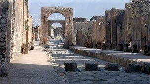 Phát hiện di chỉ khảo cổ người La Mã