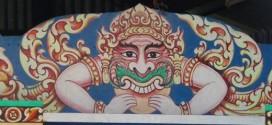 Câu chuyện về môtíp Rìa-hu trang trí ở chùa Phật Khmer