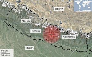 ĐỘNG ĐẤT KINH HOÀNG Ở NEPAL