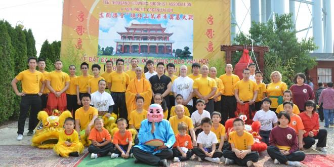 Lễ Vu Lan Báo Hiếu – Lễ Khởi Công Động Thổ Xây Dựng Chùa Vạn Hoa. PL 2559 – DL 2015.