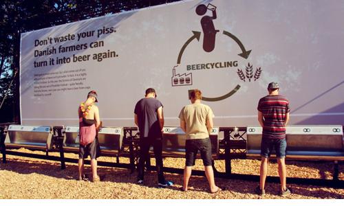 Đan Mạch tung ra sáng kiến biến nước tiểu thành bia