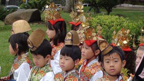 Nhật Bản : Lễ hội Phật Giáo đầy màu sắc tại Kyoto