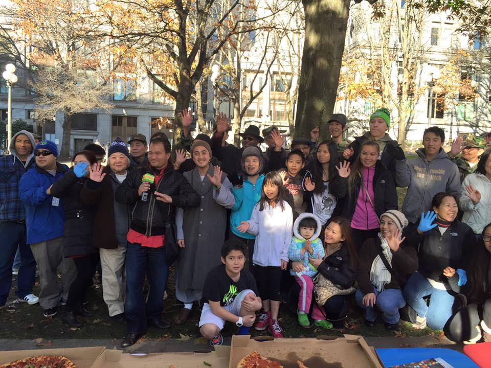 Thiện nguyện đến những người vô gia cư trong mùa đông