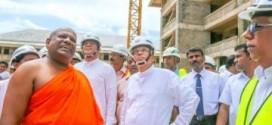 Tổng thống Srilanka  thăm trường Đại Học Phật Gíao Quốc tế Nagananda