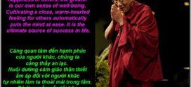 Bí quyết để có được hạnh phúc của  Đức Đạt Lai Lạt Ma